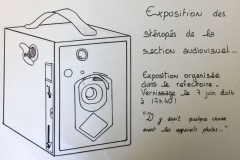 Affiche exposition sténopés